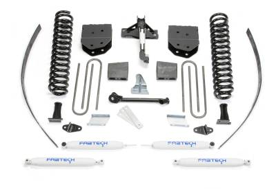 """Fabtech - Fabtech 8"""" BASIC SYS W/PERF SHKS 2008-16 FORD F250 4WD W/FACTORY OVERLOAD K2122"""
