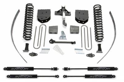 """Fabtech - Fabtech 8"""" BASIC SYS W/STEALTH 2008-16 FORD F250 4WD W/FACTORY OVERLOAD K2122M"""