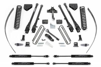 """Fabtech - Fabtech 8"""" 4LINK SYS W/COILS & STEALTH 2008-16 FORD F250 4WD W/ FACTORY OVERLOAD K2126M"""
