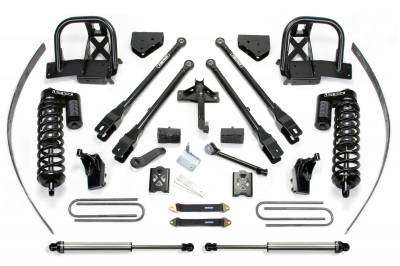 """Fabtech - Fabtech 8"""" 4LINK SYS W/DLSS 4.0 C/O& RR DLSS 2011-16 FORD F250 4WD W/FACTORY OVERLOAD K2142DL"""