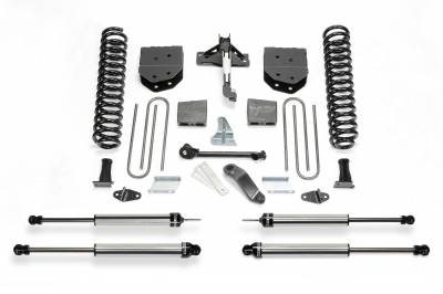 Fabtech - Fabtech 6in BASIC SYS W/DLSS SHKS 2011-13 FORD F450/550 4WD 10 LUG K2155DL