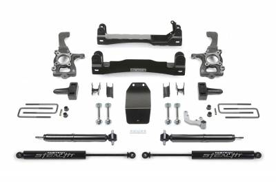 Fabtech - Fabtech 4in BASIC SYS W/ RR STEALTH 2015 FORD F150 4WD K2193M