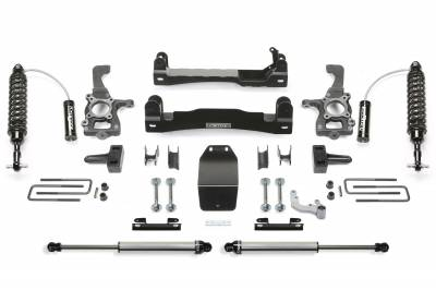 Fabtech - Fabtech 4in PERF SYS W/ DLSS 2.5 C/O RESI & RR DLSS 2015 FORD F150 4WD K2196DL