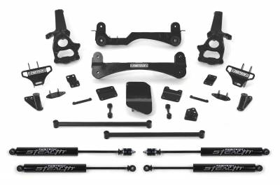 Fabtech - Fabtech 6in PERF SYS W/STEALTH 02-05 DODGE 1500 4WD K3000M