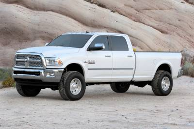 Suspension - Lift Kits - Fabtech - Fabtech 2.5in COIL SPCR KIT W/PERF SHKS 2013-16 RAM 3500 4WD W/FACTORY RADIUS ARMS K3056