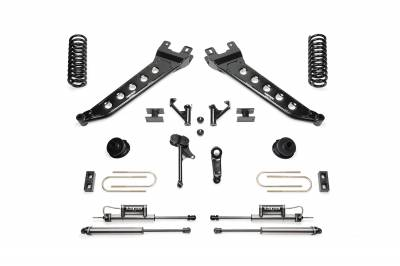 Fabtech - Fabtech 5in RADIUS ARM KIT W/2.25 DLSS 2013-16 RAM 3500 4WD K3144DL