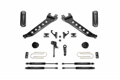 Fabtech - Fabtech 5in RADIUS ARM KIT W/ STEALTH 2013-16 RAM 3500 4WD K3144M