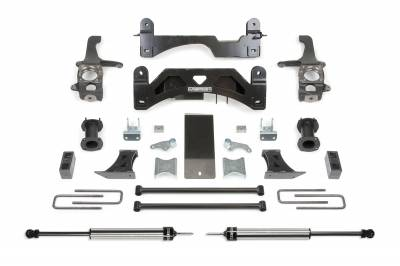 Fabtech - Fabtech 6in BASIC SYS W/C/O SPACERS & RR DLSS 07-15 TOYOTA TUNDRA 2/4WD K7009DL