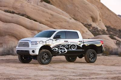 Fabtech - Fabtech 6in PERF SYS W/DLSS 2.5 C/Os & RR DLSS 07-15 TOYOTA TUNDRA 2/4WD K7010DL
