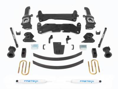Fabtech - Fabtech 6in BASIC SYS W/PERF SHKS 05-14 TOYOTA TACOMA 4WD/ 2WD 6 LUG MODELS ONLY K7019