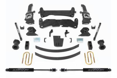 Fabtech - Fabtech 6in BASIC SYS W/STEALTH 05-14 TOYOTA TACOMA 4WD/ 2WD 6 LUG MODELS ONLY K7019M