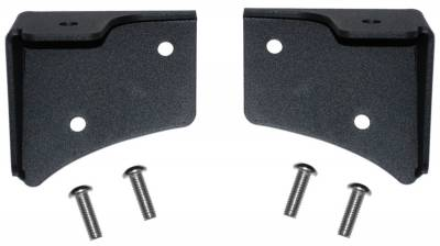 MBRP Exhaust - MBRP Exhaust Windsheild Light Bracket , Black Coated 130719