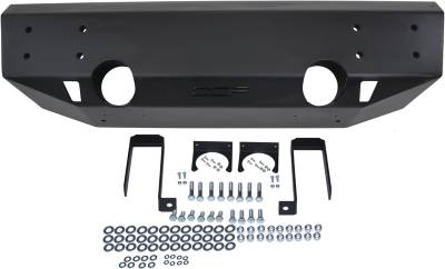 Exterior Accessories - Bumpers - MBRP Exhaust - MBRP Exhaust Front Stubby Non Winch Bumper 131094