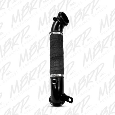 "Exhaust - Muffler Delete Pipes - MBRP Exhaust - MBRP Exhaust 3"" Turbo Down Pipe GM8427"