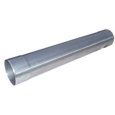 """Exhaust - Mufflers - MBRP Exhaust - MBRP Exhaust Muffler Delete Pipe  5"""" Inlet /Outlet  31"""" Overall, AL MDA531"""