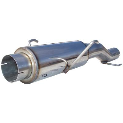 Exhaust - Mufflers - MBRP Exhaust - MBRP Exhaust High-Flow Muffler Assembly, T409 MK96116