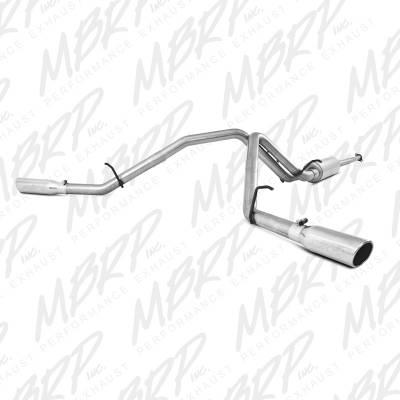 """MBRP Exhaust - MBRP Exhaust 2 1/2"""" Cat Back, Dual Split Side, AL S5066AL"""
