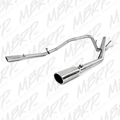 "MBRP Exhaust - MBRP Exhaust 2 1/2"" Cat Back, Dual Split Rear, AL S5126AL"