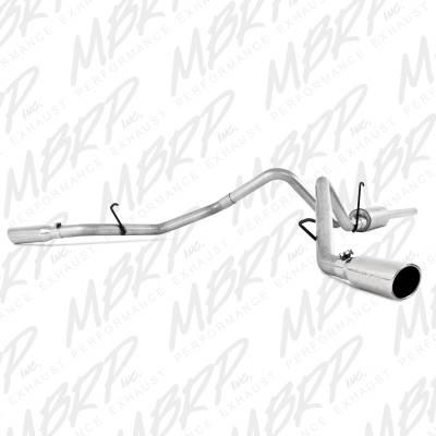 """MBRP Exhaust - MBRP Exhaust 2 1/2"""" Cat Back, Dual Split Side, AL S5128AL"""
