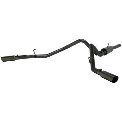 """MBRP Exhaust - MBRP Exhaust 2 1/2"""" Cat Back, Dual Split Side, T304 S5130304"""