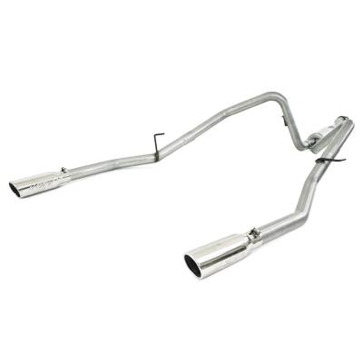 "MBRP Exhaust - MBRP Exhaust 2 1/2"" Cat Back, Dual Rear, AL S5234AL"
