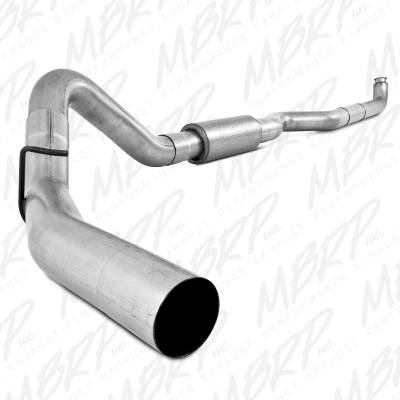 "MBRP Exhaust - MBRP Exhaust 4"" Down Pipe Back, Single Side, Off-Road (includes front pipe) S6004P"