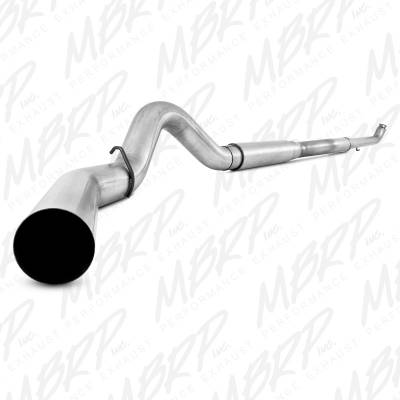 "MBRP Exhaust - MBRP Exhaust 5"" Off Road, Single Side (includes front pipe), AL S60200AL"