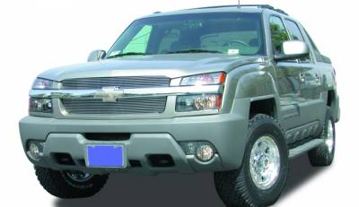 T-Rex - T-Rex 2002-2006 Avalanche W/Body Cladding  BILLET ALUMINUM Polished Grille 20085