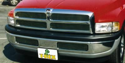 T-Rex - T-Rex 1994-2001 Ram PU, except 99+ Sport  BILLET ALUMINUM POLISHED Grille 20450