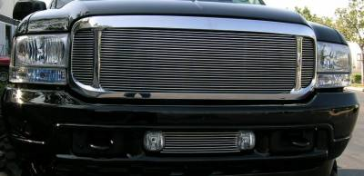 Exterior Accessories - Grilles - T-Rex - T-Rex 2000-2004 Excursion  BILLET ALUMINUM POLISHED Grille 20585