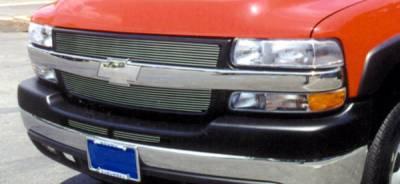 T-Rex - T-Rex 2001-2002 Silverado HD  BILLET ALUMINUM POLISHED Grille 21080