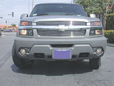 T-Rex - T-Rex 2002-2006 Avalanche W/Body Cladding  BILLET ALUMINUM Polished Grille 21085