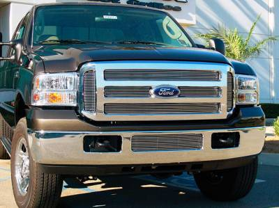 T-Rex - T-Rex 2005-2007 Super Duty  BILLET ALUMINUM POLISHED Grille 21562