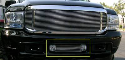 Exterior Accessories - Grilles - T-Rex - T-Rex 2000-2004 Excursion  BILLET ALUMINUM POLISHED BUMPER 25567