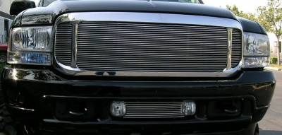 Exterior Accessories - Grilles - T-Rex - T-Rex 2000-2004 Excursion  ASSY ALUMINUM POLISHED Grille 50575