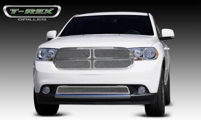 T-Rex - T-Rex 2011-2013 Durango  Upper Class STAINLESS POLISHED Grille 54492