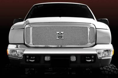 Exterior Accessories - Grilles - T-Rex - T-Rex 2000-2004 Super Duty, Excursion  ASSY STAINLESS POLISHED Grille 6705700