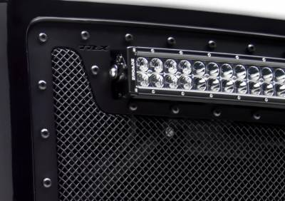 T-Rex - T-Rex 2011-2015 Super Duty  X-METAL STEEL BLACK Grille 6715461-BR