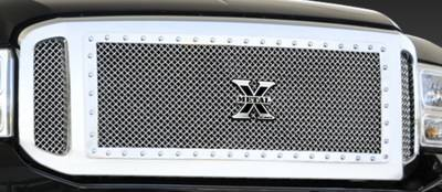 Exterior Accessories - Grilles - T-Rex - T-Rex 1999-2004 Super Duty  X-METAL STAINLESS POLISHED Grille 6715700