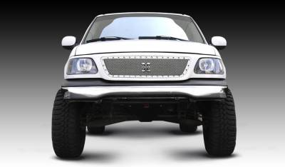Exterior Accessories - Grilles - T-Rex - T-Rex 1999-2003 F150 (All Models)   X-METAL STAINLESS POLISHED Grille 6715800