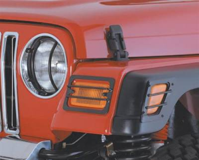 Smittybilt - Smittybilt Euro Headlight Guard 5660