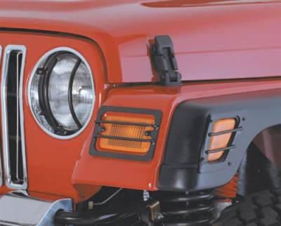 Smittybilt Euro Headlight Guard 5660