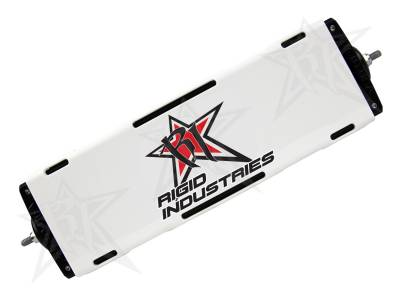 "Rigid Industries - Rigid Industries 10"" E-Series Light Cover - White - trim 4"" & 6"" 11096"