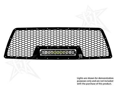 """Exterior Accessories - Grilles - Rigid Industries - Rigid Industries Toyota Tacoma - 2005-2010  Grille Kit - 10"""" SR-Series 40553"""