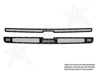 """Exterior Accessories - Grilles - Rigid Industries - Rigid Industries Chevy 1500 - 2011-2013 Grille Kit - 2XSRM, 6"""" SR-Series 40565"""