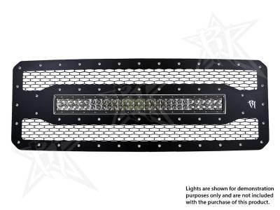 """Exterior Accessories - Grilles - Rigid Industries - Rigid Industries Ford F-250/F-350 - 2011-2013 Grille Kit - 30"""" E-Series 40566"""