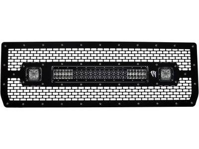 "Exterior Accessories - Grilles - Rigid Industries - Rigid Industries 2014 Grille Kit, 20"" E Series / 2 D-Series 40573"