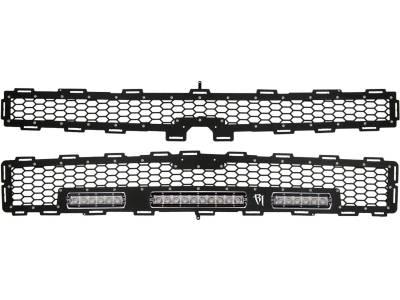 """Exterior Accessories - Grilles - Rigid Industries - Rigid Industries Chevy 1500  Z71 Grille Kit - 10"""" SR Series & 2x 6"""" SR Series 40576"""