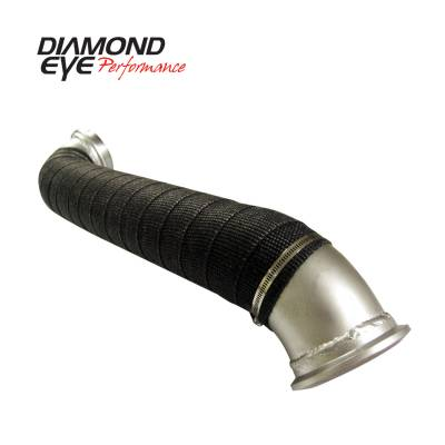 Exhaust - Muffler Delete Pipes - Diamond Eye Performance - Diamond Eye Performance 2004-2010 CHEVY/GMC 6.5L LLY; LBZ; LMM DURAMAX 2500/3500 (ALL CAB AND BED LENGTH 321056