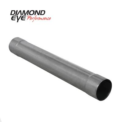 Exhaust - Mufflers - Diamond Eye Performance - Diamond Eye Performance PERFORMANCE DIESEL EXHAUST PART-4in. ALUMINIZED PERFORMANCE MUFFLER REPLACEMENT 510205
